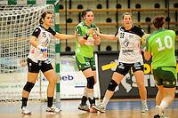v.l.n.r. Jana Srapelfeldt (BSV), Jenny Karolius (FAG) , Josephine Techert (BSV)