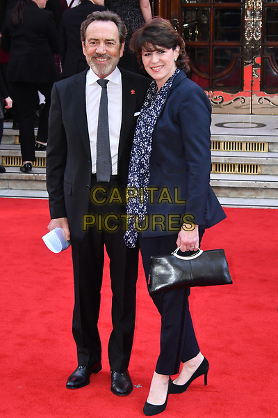 LONDON, ENGLAND - MARCH 15: Robert Lindsay and Rosemarie Ford  at the Prince's Trust and Samsung Celebrate Success Awards 2017, The London Palladium, Argyll Street, London, England, UK, on Wednesday 15 March 2017.<br /> CAP/JOR<br /> &copy;JOR/Capital Pictures