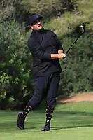 Joel Sjoholm (SWE) on the 5th tee during Round 3 of the Challenge Tour Grand Final 2019 at Club de Golf Alcanada, Port d'Alcúdia, Mallorca, Spain on Saturday 9th November 2019.<br /> Picture:  Thos Caffrey / Golffile<br /> <br /> All photo usage must carry mandatory copyright credit (© Golffile | Thos Caffrey)