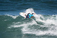 BELLS BEACH, Torquay, Victoria, Australia  (Saturday, March 31, 2018) Caroline Marks (USA) - The Rip Curl Pro Bells Beach, Stop No. 2 on the World Surf League (WSL) Championship Tour (CT),  started first thing this morning with the remaining four heats of men&rsquo;s Round 1 and men&rsquo;s Round 2. Women&rsquo;s Round 2 followed with late finish after 7pm. With five-to-eight foot (1.5 - 2.4 metre) waves on offer at Bells Beach, the competition will see a big day of action as the elite field battles to ring the coveted and iconic Bell. <br /> <br /> &ldquo;As predicted, wave heights have increased and conditions are clean, so we have moved back to our primary location of Bells Beach for our second day of competition,&rdquo; said WSL Commissioner. &ldquo;We are going to complete the remaining four heats of men&rsquo;s Round 1 and continue into men&rsquo;s Round 2...  It is going to be a big day of competition here at Bells.&rdquo;<br /> Photo: joliphotos.com