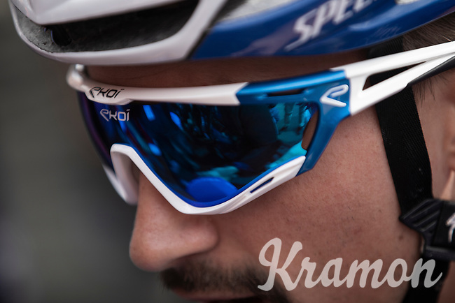 Julian Alaphilippe (FRA/Deceuninck Quick Step) pre race<br /> <br /> <br /> 83th Flèche Wallonne 2019 (1.UWT)<br /> 1 Day Race: Ans – Huy 195km<br /> <br /> ©kramon