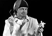 EXCLUSIVE FILE STUDIO - Michel Barette<br /> studio shooting, Hannuary 23, 1984<br /> <br /> Photo :  Agence Quebec Presse - Denis Alix