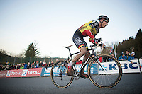 this was not a good weekend for Sven Nys (BEL/Crelan-AAdrinks) as he battled ilness<br /> <br /> Superprestige Francorchamps 2014