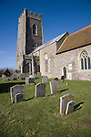 St Mary's church, Kersey, Suffolk, England