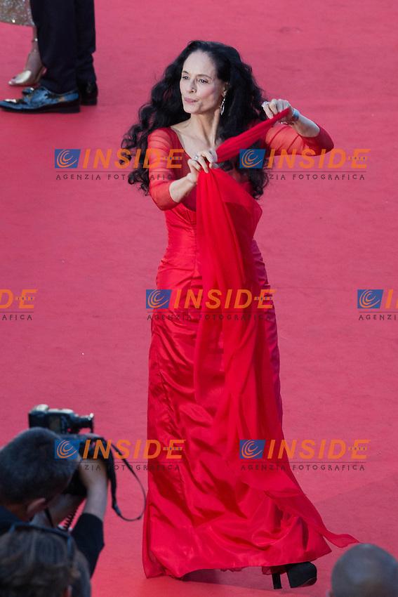 Sonia Braga <br /> Cannes 21-05-2016 <br /> Festival del Cinema di Cannes 2016<br /> Foto Panoramic / Insidefoto