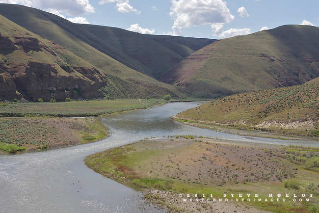 The John Day River, Oregon.