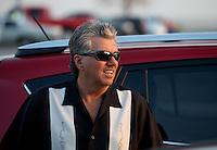 Aug. 29, 2013; Avon, IN, USA: NHRA driver John Force at the premiere of Snake & Mongoo$e at the Regal Shiloh Crossing Stadium 18. Mandatory Credit: Mark J. Rebilas-