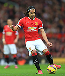 Radamel Falcao of Manchester United - Manchester United vs. Sunderland - Barclay's Premier League - Old Trafford - Manchester - 28/02/2015 Pic Philip Oldham/Sportimage