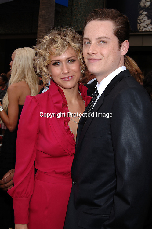 Jennifer Landon and Jesse Soffer..arriving at The 33rd Annual Daytime Emmy Awards..on April 28, 2006 at The Kodak Theatre in Hollywood California...Robin Platzer, Twin Images