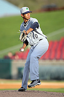 April 11 2010: Miguel Munoz of the Beloit Snappers at Elfstrom Stadium in Geneva, IL. The Snappers are the Low A affiliate of the Minnesota Twins. Photo by: Chris Proctor/Four Seam Images