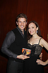 Bonnie & Clyde's Claybourne Elder & Melissa van der Schyff as they perform at the Broadway Extravaganza to honor the Candidacy of Artist Jane Elissa for the Leukemia & Lymphoma Society, Man & Woman of the Year on April 23, 2012 at the New York Marriott Marquis, New York City, New York.  (Photo by Sue Coflin/Max Photos)