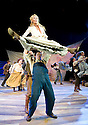 Oklahoma by Rogers and Hammerstein, Directed by John Doyle. With Melanie Cripps as Swing and Dance Captain,Sam Archer as Slim.Opens at The Chichester Festival Theatre on 24/6/09. CREDIT Geraint Lewis