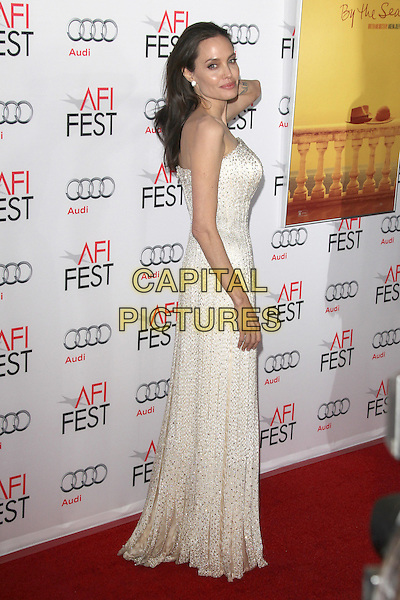 HOLLYWOOD, CA - NOVEMBER 5: Angelina Jolie at AFI FEST 2015 Opening Night Gala Premiere Of  By The Sea at TCL Chinese 6 Theatre on November 5, 2015 in Hollywood, California. <br /> CAP/MPI23<br /> &copy;MPI23/Capital Pictures