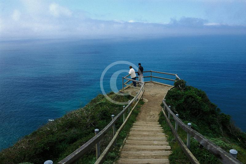 California, Marin County, Muir Beach Overlook, GGNRA