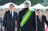 BRASÍLIA, DF, 01.01.2019 – POSSE-BOLSONARO – O presidente eleito Jair Bolsonaro durante sua posse como Presidente do Brasil, na tarde desta terça-feira, 01, no Palácio do Planalto em Brasília. (Foto: Ricardo Botelho/Brazil Photo Press)