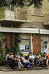 Israel, Tel Aviv, Rothschild 12 Bar on Rothschild Boulevard