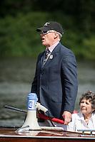 Henley Royal Regatta, Henley on Thames, Oxfordshire, 29 June-3 July 2015.  Thursday  10:34:48   30/06/2016  [Mandatory Credit/Intersport Images]<br /> <br /> Rowing, Henley Reach, Henley Royal Regatta.<br /> <br /> R C Stanhope, Esq. Umpire