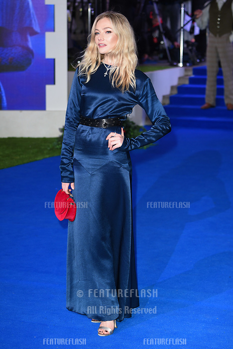 "LONDON, UK. December 12, 2018: Clara Paget at the UK premiere of ""Mary Poppins Returns"" at the Royal Albert Hall, London.<br /> Picture: Steve Vas/Featureflash"