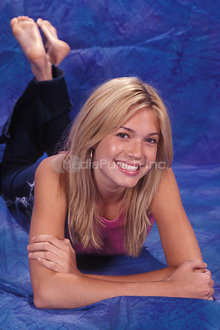 MIAMI FL - DECEMBER 17: Mandy Moore poses during a photo session at Bayfront Park Amphitheater on December 17, 1998 in Miami, Florida. Credit: mpi04/MediaPunch