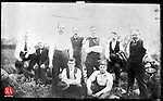 Frederick Stone negative. Post Office Clerks Ball Team, May 30, 1892