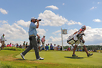 J.B. Holmes (USA) departs the 7th tee during Sunday's round 4 of the 117th U.S. Open, at Erin Hills, Erin, Wisconsin. 6/18/2017.<br /> Picture: Golffile | Ken Murray<br /> <br /> <br /> All photo usage must carry mandatory copyright credit (&copy; Golffile | Ken Murray)