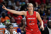 Washington, DC - August 25, 2019: Washington Mystics guard Kim Mestdagh (6) during second half action of game between the New York Liberty and the Washington Mystics at the Entertainment and Sports Arena in Washington, DC. The Mystics defeated New York 101-72. (Photo by Phil Peters/Media Images International)