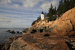 Bass Harbor Head Lighthouse, Acadia National Park, Tremont, ME, USA