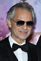 "Andrea Bocelli<br /> arriving for the European premiere of ""The Nutcracker and the Four Realms"" at the Vue Westfield, White City, London<br /> <br /> ©Ash Knotek  D3458  01/11/2018"