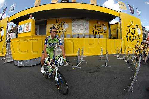2009, Tour de France, tappa 11 Vatan - Saint Fargeau, Liquigas, Nibali Vincenzo, Vatan Stage 11, July 15th 2009 (Photo: Stefano Sirotti/ActionPlus)