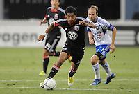 D.C. United midfielder Andy Najar (14) D.C. United defeated Montreal Impact 3-0 at RFK Stadium, Saturday June 30, 2012.