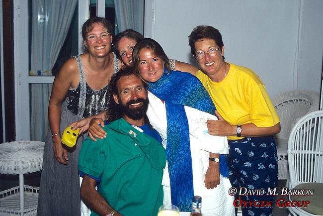 Joanne, Martha, Delphine, Janice & Nilakanthan