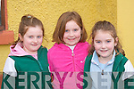 Elizabeth, Jennifer and Sarah O'Neill Fossa at the Model making Community Games in Gaelscoil Aogain Castleisland on Sunday   Copyright Kerry's Eye 2008