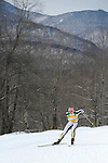 9 MAR 2011: Eliska Hajkova of the University of Colorado  competes in the women's 5km freestyle cross country race during the 2011 NCAA Men and Women's Division I Skiing Championship held Stowe Mountain Resort and Trapp Family Lodge in Stowe, VT. Hajkova placed second to take silver. ©Brett Wilhelm/NCAA Photos