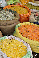 Colorful spices, Udaipur, India.
