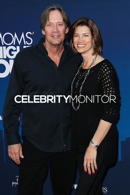 "HOLLYWOOD, LOS ANGELES, CA, USA - APRIL 29: Kevin Sorbo, Sam Sorbo at the Los Angeles Premiere Of TriStar Pictures' ""Mom's Night Out"" held at the TCL Chinese Theatre IMAX on April 29, 2014 in Hollywood, Los Angeles, California, United States. (Photo by Xavier Collin/Celebrity Monitor)"