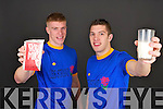 Kerry Senior Footballers David Moran and Tommy Walsh promote Lee Strand Products.   Copyright Kerry's Eye 2008