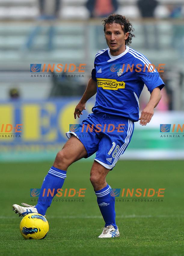"Gianluca COMOTTO (Cesena).Parma 30/10/2011 Stadio ""Ennio Tardini"".Serie A 2011/2012.Football Calcio Parma Vs Cesena.Foto Insidefoto Alessandro Sabattini."