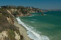 Coastline near Charlestown, Cornwall