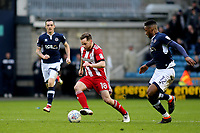 Alan Judge of Brentford in action during Millwall vs Brentford, Sky Bet EFL Championship Football at The Den on 10th March 2018