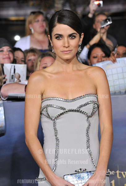 "Nikki Reed at the world premiere of her movie ""The Twilight Saga: Breaking Dawn - Part 2"" at the Nokia Theatre LA Live..November 12, 2012  Los Angeles, CA.Picture: Paul Smith / Featureflash"