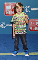 HOLLYWOOD, CA - NOVEMBER 05: Jeremy Maguire attends the Premiere Of Disney's 'Ralph Breaks The Internet' at the El Capitan Theatre on November 5, 2018 in Los Angeles, California.<br /> CAP/ROT/TM<br /> &copy;TM/ROT/Capital Pictures