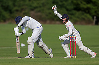 Hutton claim the last Gidea Park wicket during Hutton CC vs Gidea Park and Romford CC, Shepherd Neame Essex League Cricket at the Polo Field on 11th May 2019