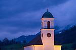St. Peter und Paul Kirche, St. Peter and Paul Church, Mauren, Rheintal, Rhine-valley, Liechtenstein.
