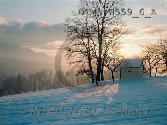 Gerhard, CHRISTMAS LANDSCAPE, photos(DTMBW559-6-A,#XL#) Landschaften, Weihnachten, paisajes, Navidad