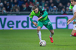 10.02.2019, Weser Stadion, Bremen, GER, 1.FBL, Werder Bremen vs FC Augsburg, <br /> <br /> DFL REGULATIONS PROHIBIT ANY USE OF PHOTOGRAPHS AS IMAGE SEQUENCES AND/OR QUASI-VIDEO.<br /> <br />  im Bild<br /> Johannes Eggestein (Werder Bremen #24)<br /> Einzelaktion, Ganzkörper / Ganzkoerper<br /> <br /> <br /> Foto © nordphoto / Kokenge