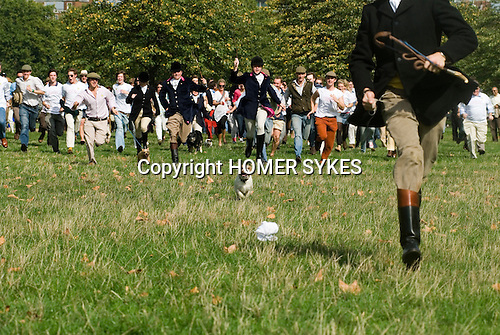 Connaught Square Squirrel Hunt Club  London UK  | HOMER SYKES