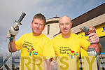 HELPING HAND: Killarney volunteers Kevin Griffin and Dan McAuliffe who are part of the Niall Melon group of 2,000 volunteers going to South Africa in November.   Copyright Kerry's Eye 2008