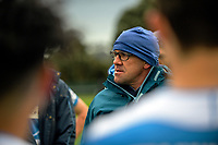 Silverstream coach Tim Mannix during the Weltec Premiership Wellington secondary schools 1st XV rugby final between St Patrick's College Silverstream and Wellington College at Porirua Park in Wellington, New Zealand on Sunday, 20 August 2017. Photo: Dave Lintott / lintottphoto.co.nz