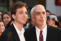 "LONDON, UK. October 13, 2018: Nic Sheff & David Sheff at the London Film Festival screening of ""Beautiful Boy"" at the Cineworld Leicester Square, London.<br /> Picture: Steve Vas/Featureflash"
