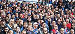11.08.2019 Rangers v Hibs: Rangers fans